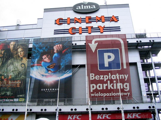 Kino Cinema City i 13 ekran�w - multiplex