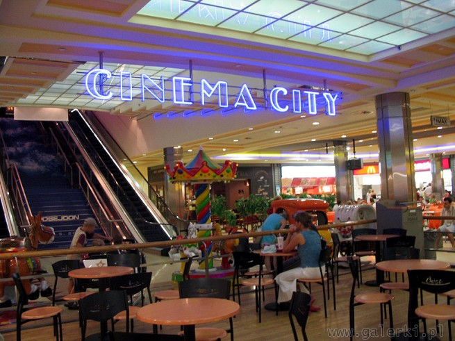 Cinema City - kino na górze