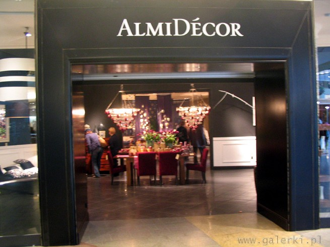 Almi Decor: meble i wyposa�enie dom�w i wn�trz. ALe s� te� cafe - restauracje Almi Cafe